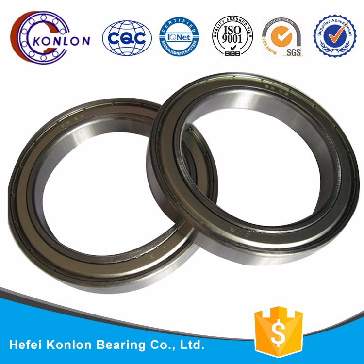 Deep groove ball bearing 16017 SIZE 85*130*14