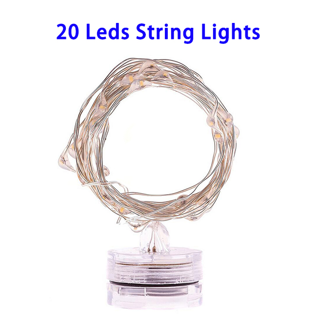 Waterproof Starry String Lights Flower Shaped LED Wire String Light