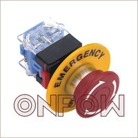 ONPOW elevator emergency stop switch(22MM,LAS0-K-11TSA,CE,VDE,CCC,ROHS)