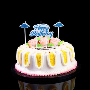 Sparkling Decoration Cake Candle Child Colored Romantic Birthday
