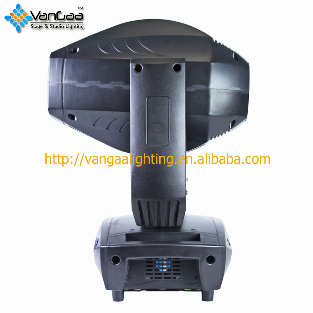 VanGaa Lighting 200W LED Spot Beam Wash 3in1 Moving Head Light LED Beam Spot Wash 200W