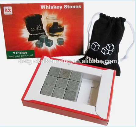 Cooling Ice whiskey Chilling Rock Stone Granite Whiskey Stone