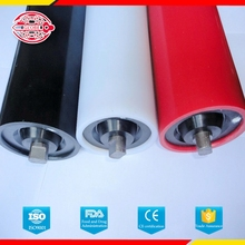 Super wear resistance,quality assurance,well sealed uhmwpe roller