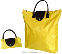Wholesale nylon foldable shopping tote BAG