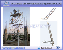 Hot sale different types of scaffolding tower