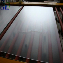 Anti reflective coating low iron certificated solar panel low iron tempered glass 4mm clear float glass