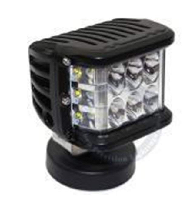 PA 27W 2500lm Side shooter Left Side LED WORK LIGHT