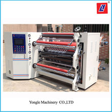 Plastic PVC film laminating and slitting machine