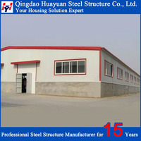 China supplier prefab structural steel warehouse style house plans