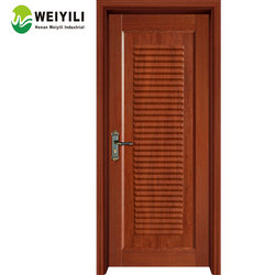 Excellent Soundproof Hard Wood 100% Solid Bamboo Door From Factory
