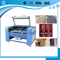 Eastern key leather fabric baby dress paper laser cutting machine