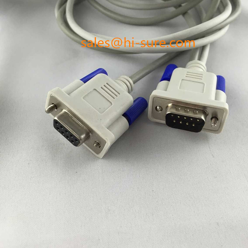 DB9P connector to RJ50 connector power cable