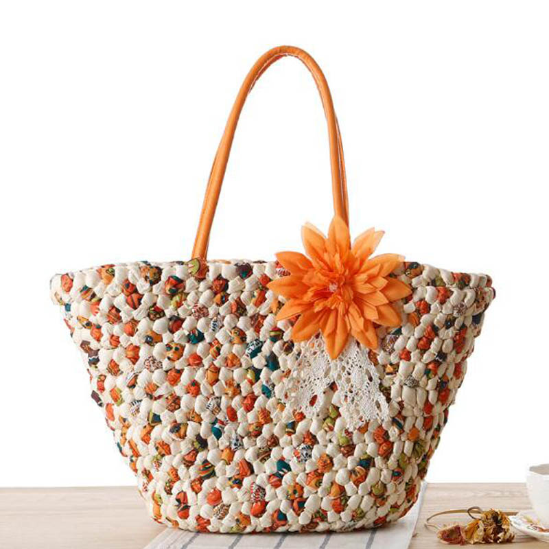 2016 new <strong>design</strong> ladies' fashion summer natural handmade seagrass straw beach bag