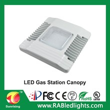 5 years warranty popular production 130w led canopy light led gas station light with Mean Well IP65 driver