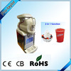 Popular,2 in 1 ice cream slush machine(XRJ-6L)