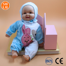 customized simulation baby shape electronic doll with sound