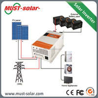 1 phase input 1 phase output low frequency inverter cheap solar energy system support air condition