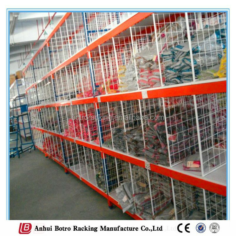 Warehouse Storage Steel Q235 Long Span Shelving System/Automatic Rack for 4S Workshop/Auto parts rack