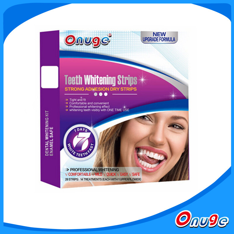 Oral Health Care Products, Free Peroxide Teeth Whitening Gel Strips