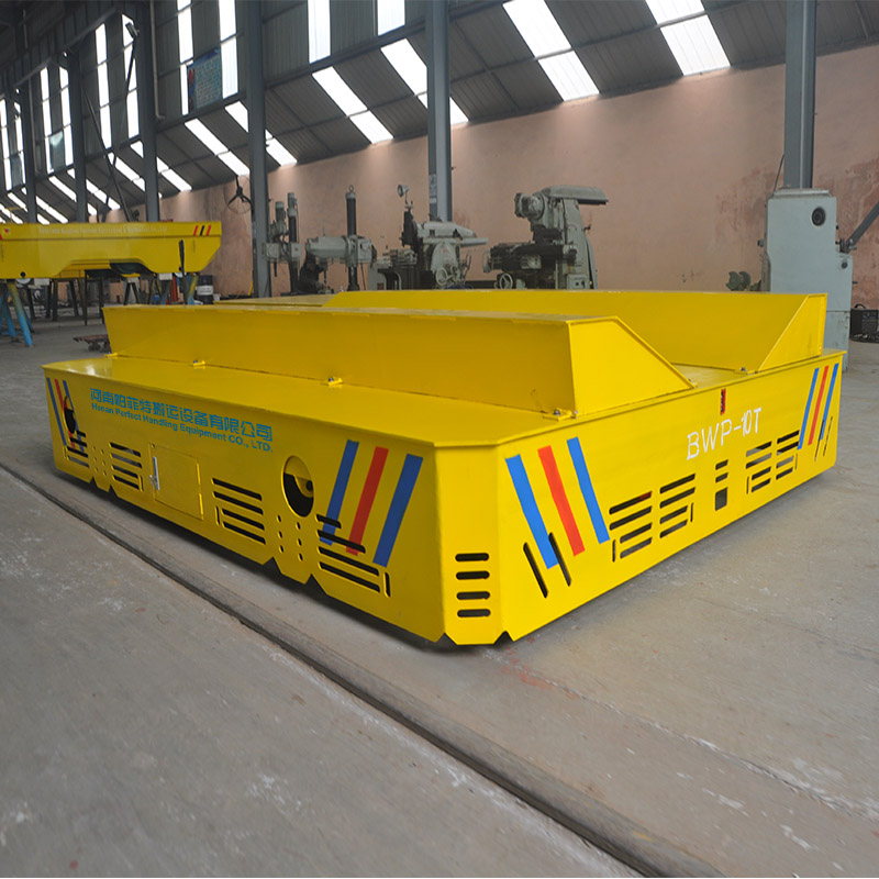 BWP-10 tons cement plant transport trailer for moving floor slab