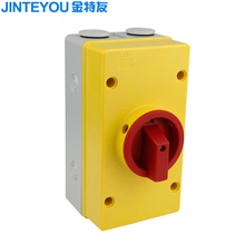 20A 32A Electrical load isolation rotary switch