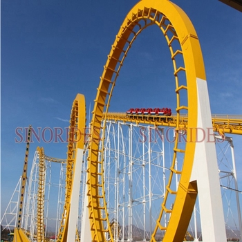 Thrilling Amusement Park RidesRoller Coaster For Sale