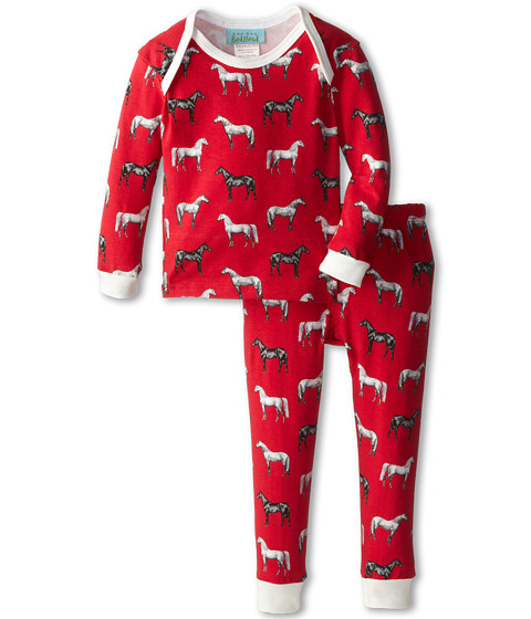 China Selling Children Home Wear Horse Printing Pajamas Sets