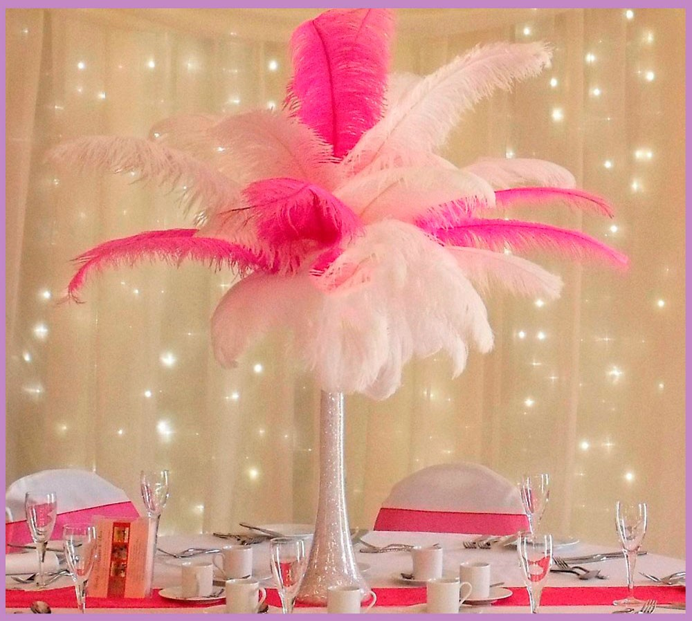 Handmade Wholesale Cheap artificial ostrich feathers for wedding party carnival decoration