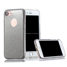 2016 Newest Bling Dimond PC tpu Mobile Phone back cover Protective case for iPhone 7 7pro