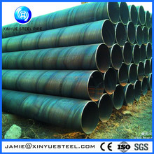 Chinese manufacturer API 5L Gr.b spiral seam double-side submerged arc welded steel pipe made in China