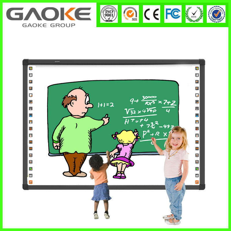 "China hangzhou Gaoke 82"" IWB mobile Infrared electronic digital Interactive Whiteboard for schools, classroom"