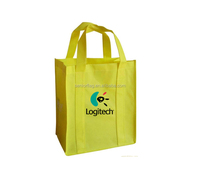 Top quality plastic non-wove bag recycle shopping bag by pictures printing in China