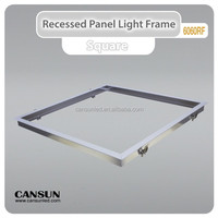 Aluminum alloy recessed led panel light frame 300x1200