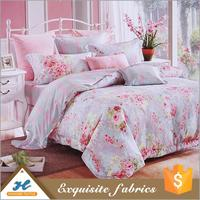 Shaoxing supplier bright color 100% polyester fabric for bed sheet