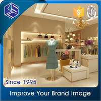 KSL Beautiful ladies modern retail garment shop interior design