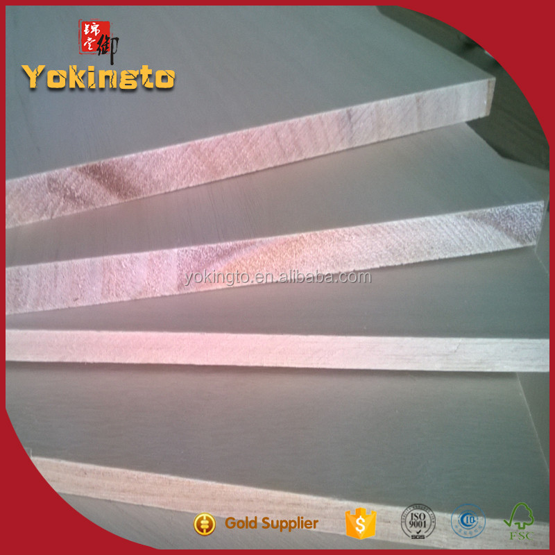 Plywood timber Kiri wood cheap price edge board for furniture construction