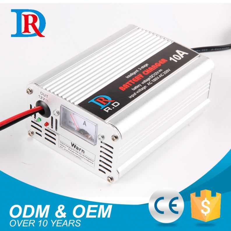 China Buying Agent 12V 10Ah Charger Car Battery Charging Machine