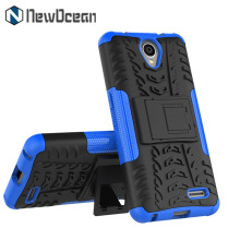 High quality heavy duty PC TPU Hybrid Armor Kickstand mobile phone case for ZTE Maven 2 Z831