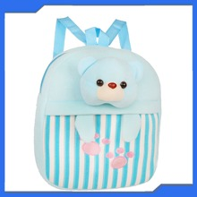 Baby Chirstmas Gift Cute Little Bear Plush Toys School Bags for Girl Manufacture China
