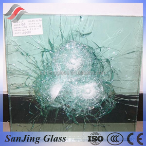 One way bulletproof glass from china supplier