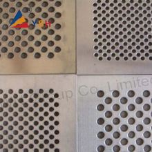 3mm Hole Galvanzied Perforated Metal Mesh For Infrared Heater