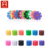wholesale 900 pieces colorful splicing building toy blocks snow flake for kids