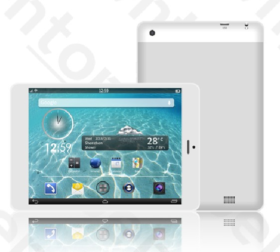 New style 7.85 inch Capacitive 10 points mid tablet pc wm8850 manual
