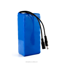 rechargeable 12v 20ah li-ion battery pack with DC plug
