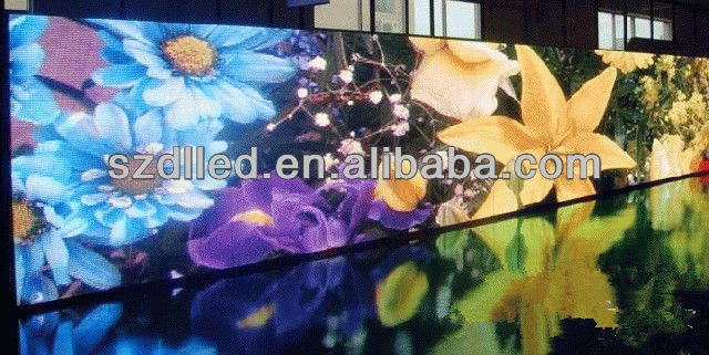 high resolution smd indoor full color p6 led video sex display