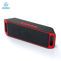 FM Radio Mini Digital Speaker with USB Port TF Card Reader Portable Speaker