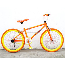 20 inch Mini Fixed Gear Bicycle Children Fixies Kids Bikes Colorful