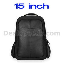 15.6 inch Dirigent Series Business PU Notebook Laptop Backpack for Macbook/for Lenovo/for Asus