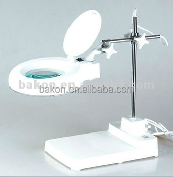China factory wholesale hot BK500 led magnifier lamp magnifier