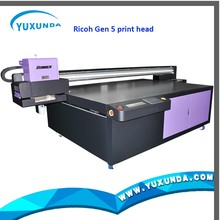 Uv Flatbed Plotter,2.5*1.3M / 2*3m Uv Flatbed Printer with Ricoh GEN5 head